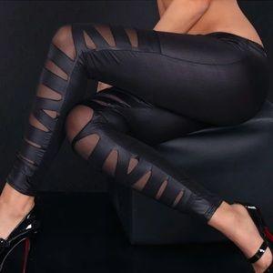 Small Sexy Black Pants Leggings